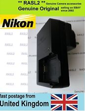 Genuine Original Nikon MH-28 quick Charger EN-EL21 Nikon ONE 1 V2 ,UK 3 Pin Plug