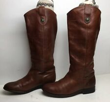 WOMENS FRYE RIDING BROWN BOOTS SIZE 7.5 B