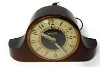 Vintage 1930s Sessions Art Deco Electric Mantel Clock Model 3W - Works