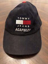 Tommy Jeans Acapulco Hilfiger 90's Denim Black Hat Mens Vintage
