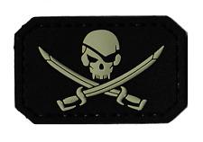 Patche pirate sabres pirates PVC souple 3D tactical morale patch scratch écusson