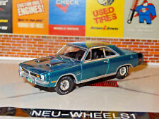 MUSCLE 1971 DODGE DART SWINGER 1/64 SCALE DIECAST LIMITED EDITION DIORAMA F
