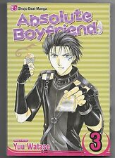 Absolute Boyfriend, Vol. 3 by Yuu Watase (2007, Paperback)