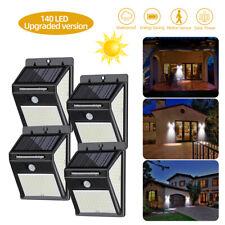 140LED Lámpara Solar Sensor de Movimiento Exterior Jardín