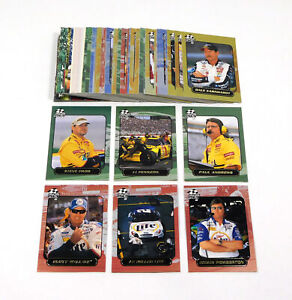 2000 Press Pass Stealth NASCAR Racing Card Set (72)