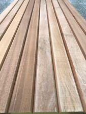 12 Sapele Hardwood Garden Bench Slats 53mm X 21mm X 1220mm Seat Chair (seconds)
