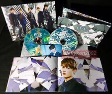 Limited Photobook+ CD/DVD+ Card NEW! SHINee 2017 FIVE Key Minho Taemin kpop jpop