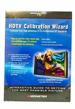Monster Cable ISF Series HDTV Calibration Wizard DVD - Helps Calibrate Your TV