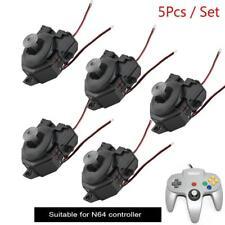 5Pcs/Set Thumbsticks 3D Joystick Analog Replacement for Nintendo N64 Controller