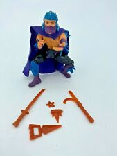 Vintage Playmates TMNT Ninja Turtles Shredder Action Figure & Accessories 1988