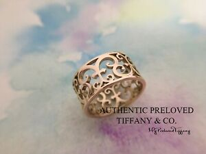Excellent Authentic Tiffany & Co. Rubedo Metal Enchant Ring RP$550