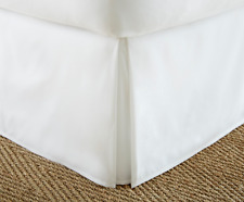 "BED SKIRT DUST RUFFLE SUPER SOFT SOLID 14"" DROP QUEEN and KING MANY COLORS"