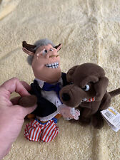 Famous Meanie Beanie Bull Clinton With Buddy The Dog