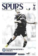 Football Programme>TOTTENHAM HOTSPUR v CHELSEA Dec 2011
