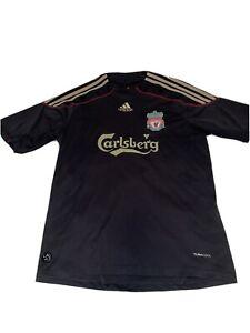 Fernando Torres Liverpool 10/11 Black Gold Liverpool Adidas Jersey Size Medium