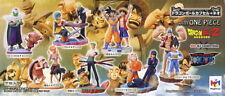 Megahouse DragonBall x One Piece Capsule Neo 20 Set of 8 Goku Luffy Nami New
