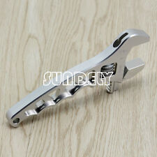 Silver 3 4 6 8 10 12-an Adjustable Spanner Aluminum Anodized Wrench Fitting Tool