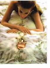 PUBLICITE   1967  REVILLON   parfum DETCHEMA