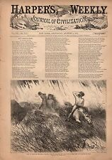 1871 Harpers Weekly August 5-Indians;Witches of Salem MA;Democrats get ignorant