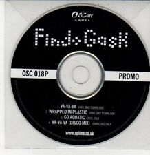 (DG353) Find Gask, Va-va-va / Wrapped In Plastic - DJ CD