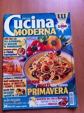 Rivista CUCINA MODERNA  N. 4 Aprile 2000 Ricette con foto + POSTER