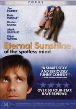 Eternal Sunshine Of The Spotless Mind (Dvd, 2-Disc Set) R-4, New, Free Shipping