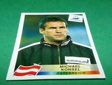 N°140 MICHAEL KONSEL ÖSTERREICH PANINI FOOTBALL FRANCE 98 1998 COUPE MONDE WM