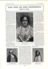 1902 Miss Sybil Carlyle Littledale Power Hadie Gunn Rees-webbe