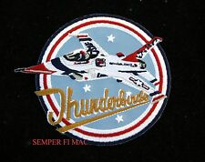 F-16 FIGHTING FALCON THUNDERBIRDS PATCH US AIR FORCE USAF PILOT CREW AIRSHOW WOW