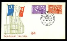France 1962 Europa FDC, Cover #C6796