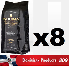 8 pound CAFE Santo Domingo INDUBAN GOURMET grounded dominican coffee 100% EUROPE