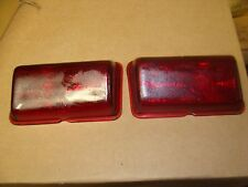 A pair of 1946-1948 Dodge  tail light lenses   521  NOS    0-2