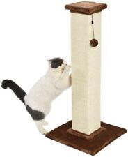New listing AmazonBasics Large Premium Tall Cat Scratching Post Brown Carpet