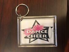 Cheerleading Keychain with Dance and Cheer