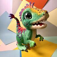 Kids Fur Real Friends Munchin Rex Dinosaur Interactive Toy Working W/ Batteries