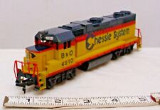 BACHMANN B&O 4810 CHESSIE SYSTEMS DIESEL TRAIN LOCOMOTIVE ENGINE IN HO SCALE