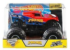 Hot Wheels Monster Jam 1 24 Die-cast Spider-man Vehicle