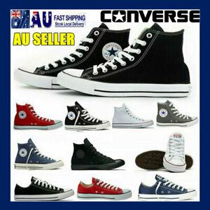 Converse Unisex All Star Classic Women Men High/Low Tops Trainers Pumps Shoes AU
