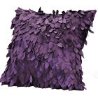 Fallen Leaves Leaf Feather Throw Waist Pillow Cover Case Cushion Decorations