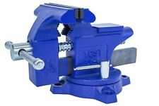 4-Inch Bench Vise Heavy Duty Clamp 360 Swivel Locking Base Craftsman Vice Tool