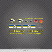 01001 3Rensho Bicycle Stickers - Decals - Transfers