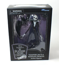 Disney Nightmare Before Christmas Vampire Jack Skellington Winged Demon Toy Doll