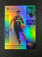 🔥🔥📈 Zion Williamson RC 2019-20 Panini Illusions  Pelicans #151