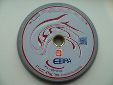 EBRA Eisstock Profil-Duplex Sommerlaufsohle grau 13 S