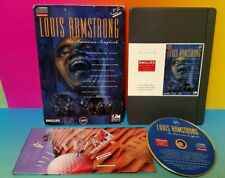 LOUIS ARMSTRONG : AN AMERICAN SONGBOOK - PHILIPS CD-i CDi SOFTWARE Complete