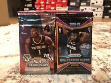 2019-20 Panini Prizm Retail + Mosaic Basketball 2 Pack Bundle