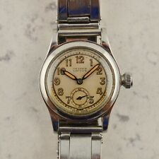 C.1941 Vintage Rolex Oyster Lipton military watch ref. 3136 cal. 59 in steel