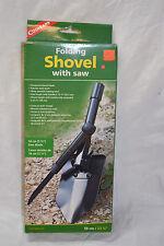 Coghlan's folding shovel with saw # 9725 (#bte3 )