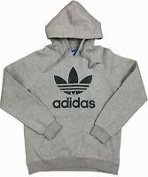 Adidas Originals Trefoil Logo Hooded Sweashirt Men's Size MEDIUM *Excellent!