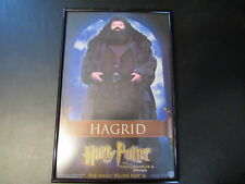 HARRY POTTER AND THE PHILOSOPHER'S STONE UK MOVIE POSTER W/ HAGRID  A11807